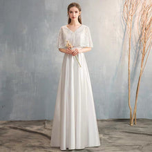 Load image into Gallery viewer, The Lorde Drape Sleeves Gown (Available in 8 colours) - WeddingConfetti