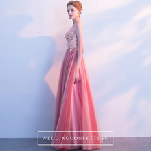 Load image into Gallery viewer, The Cherry Pink One Shoulder Dress - WeddingConfetti