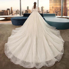 Load image into Gallery viewer, The Yasalyn Wedding Bridal Lace Gown - WeddingConfetti