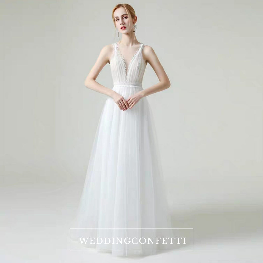 The Hensell Wedding Bridal Sleeveless Tulle Gown - WeddingConfetti