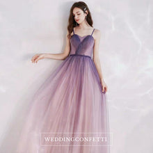 Load image into Gallery viewer, The Ashlynn Ombre Sleeveless Gown - WeddingConfetti