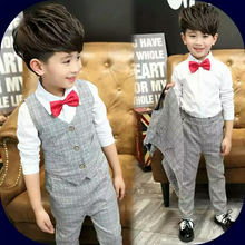 Load image into Gallery viewer, Ring bearer Boys Clothes Outfits - WeddingConfetti