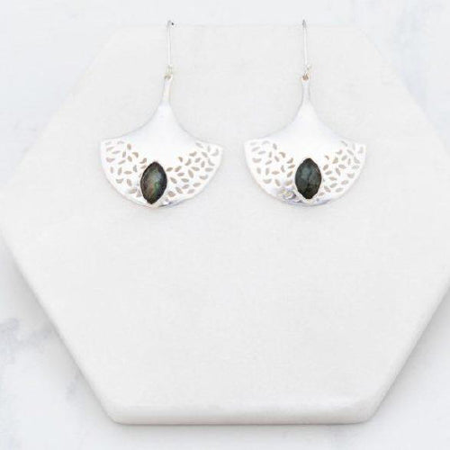 Drop earrings by Iskia Silver