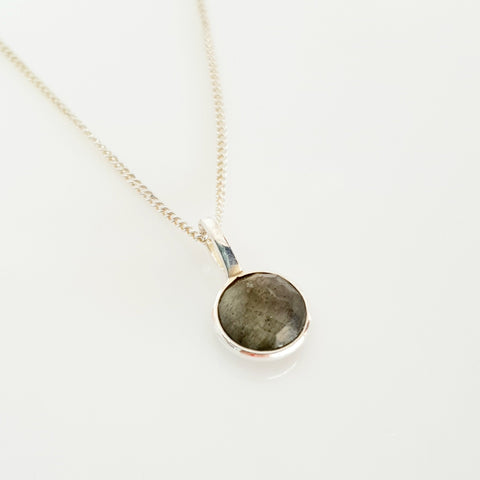 Nicole Fendel Labradorite gem necklace
