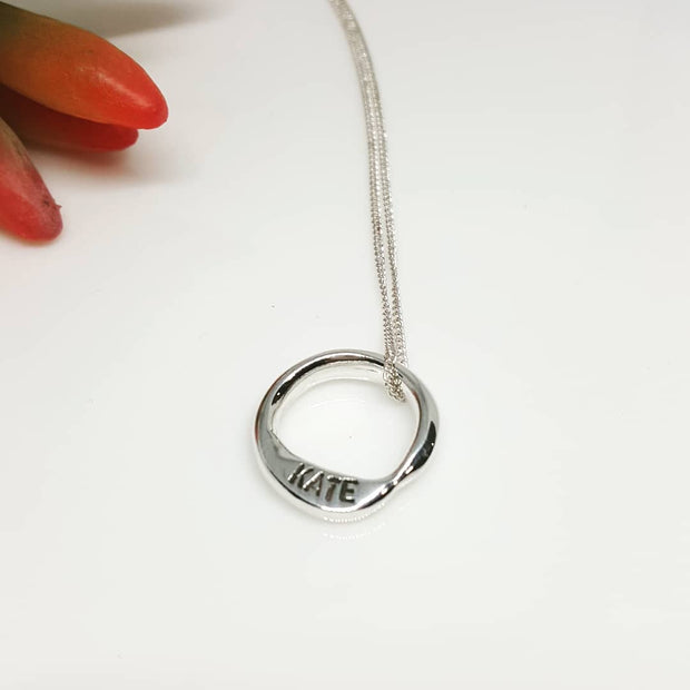 Uberkate small Living Circle pendant.