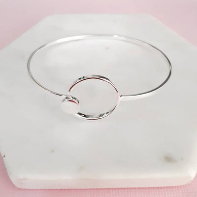 Sterling Silver clip bangle