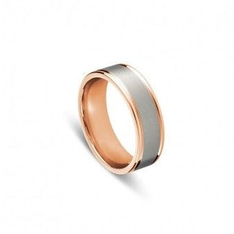 Men's stainless steel ring.