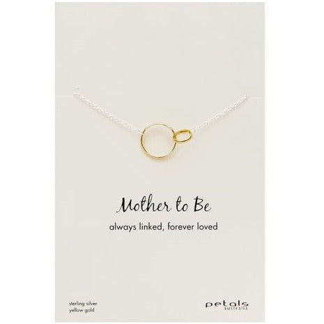 Mother to be necklace.