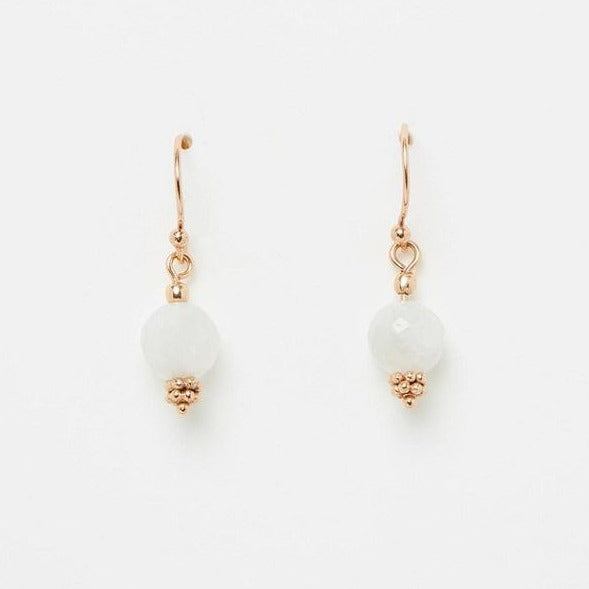 Nicole Fendel Divine drop earrings.