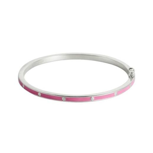 Enamel Bangle by Little Kirstin Ash