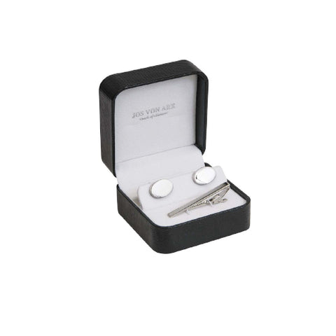 Jos Von Ark Cufflink & Tie Bar set