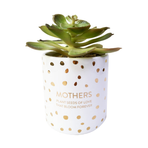 Mother's Day artificial pot.