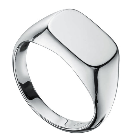 Sterling Silver gents signet ring.