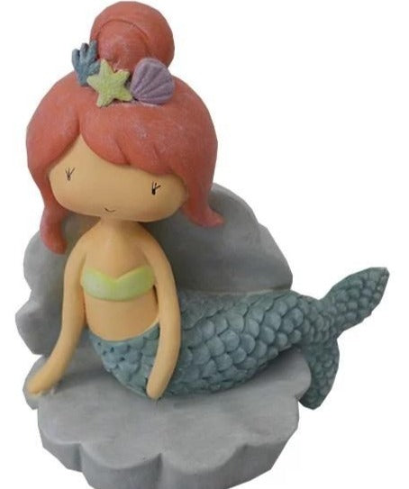Mermaid money bank.