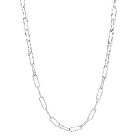 Vista Chain Necklace Sterling Silver