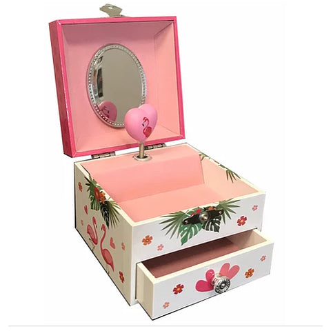 Flamingo musical jewel box.