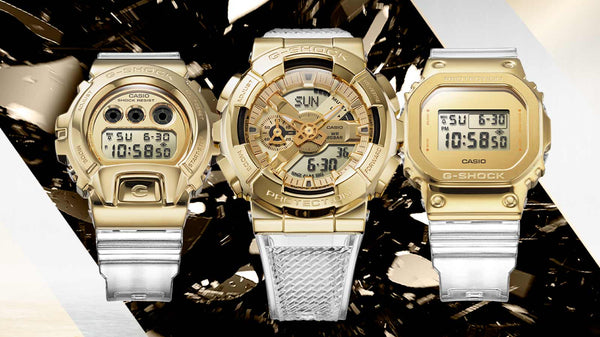 G-SHOCK REVEALS THE GOLD INGOT-INSPIRED METAL COVERED WATCHES