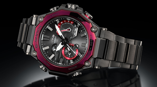 CASIO G-SHOCK LATEST MT-G WITH DUAL CORE GUARD STRUCTURE: MTG-B2000
