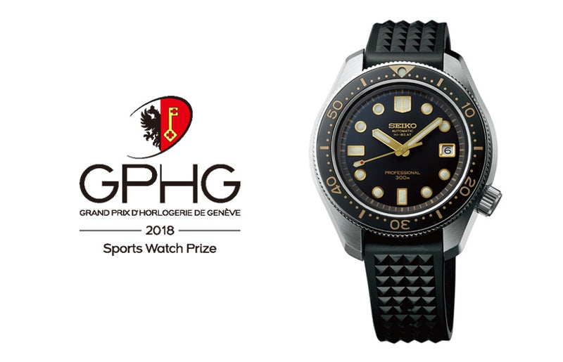 Seiko Prospex wins the Sports Watch Prize