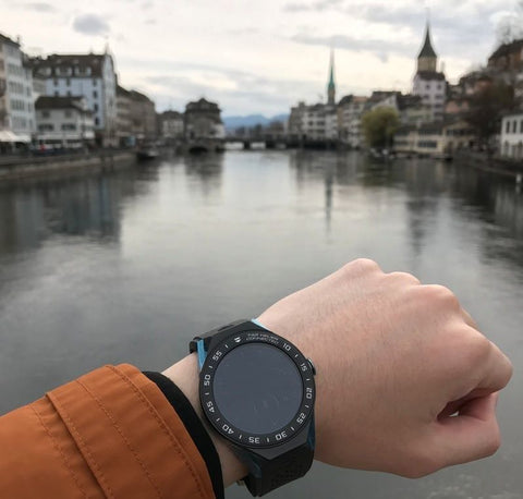 TAG HEUER CONNECTED MODULAR 45 IN ZURICH