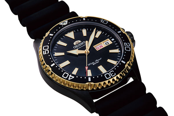 ORIENT MAKO III KAMASU BLACK-GOLD RA-AA0005B - Vincent Watch