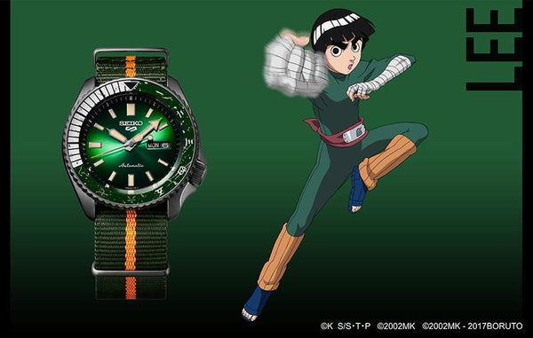 "SEIKO 5 AUTOMATIC LIMITED EDITION 6,500PCS LEE ""NARUTO SERIES"" SRPF73K1 - Vincent Watch"