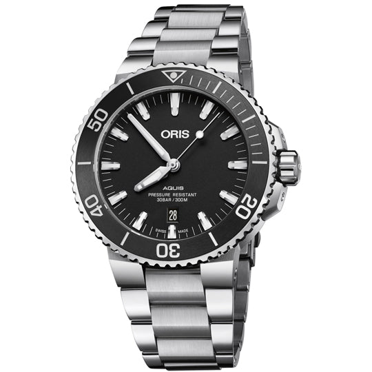 ORIS AQUIS DATE 43.5MM 01 733 7730 4154-07 8 24 05PEB - Vincent Watch