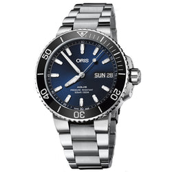 ORIS AQUIS DATE 45.5MM 01 752 7733 4135 B - Vincent Watch