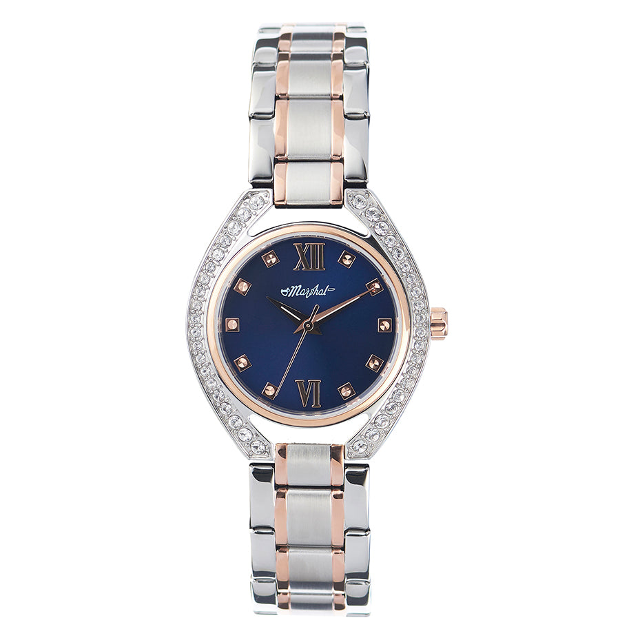 MARSHAL WATCH FLORA 917SR1729 RG/BLU