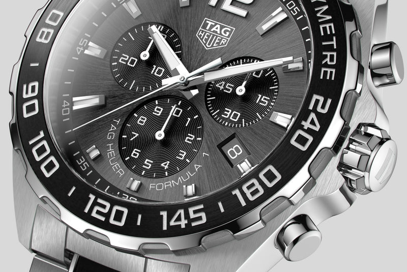 TAG Heuer Formula One Chronograph 43mm Stainless Steel Watch CAZ1011.BA0843 - Vincent Watch