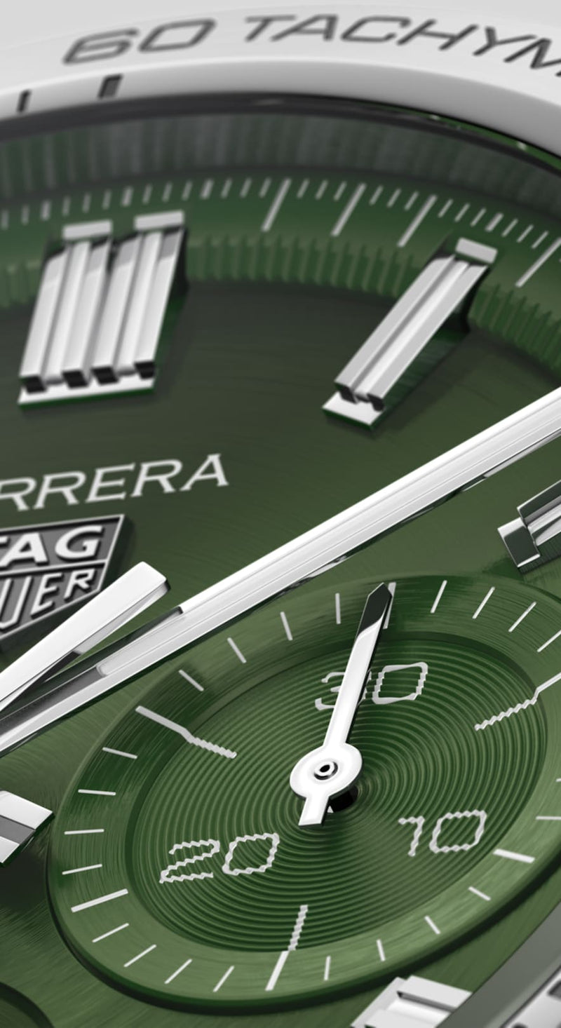 TAG Heuer Carrera Heuer 02 Automatic Chronograph 44mm Stainless Steel Watch CBN2A10.BA0643 - Vincent Watch