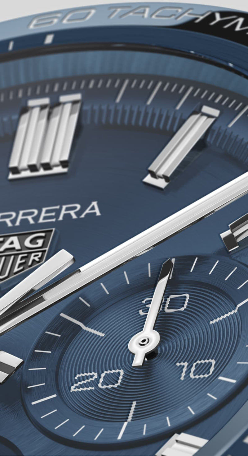 TAG Heuer Carrera Heuer 02 Automatic Chronograph 44mm Stainless Steel Watch CBN2A1A.BA0643