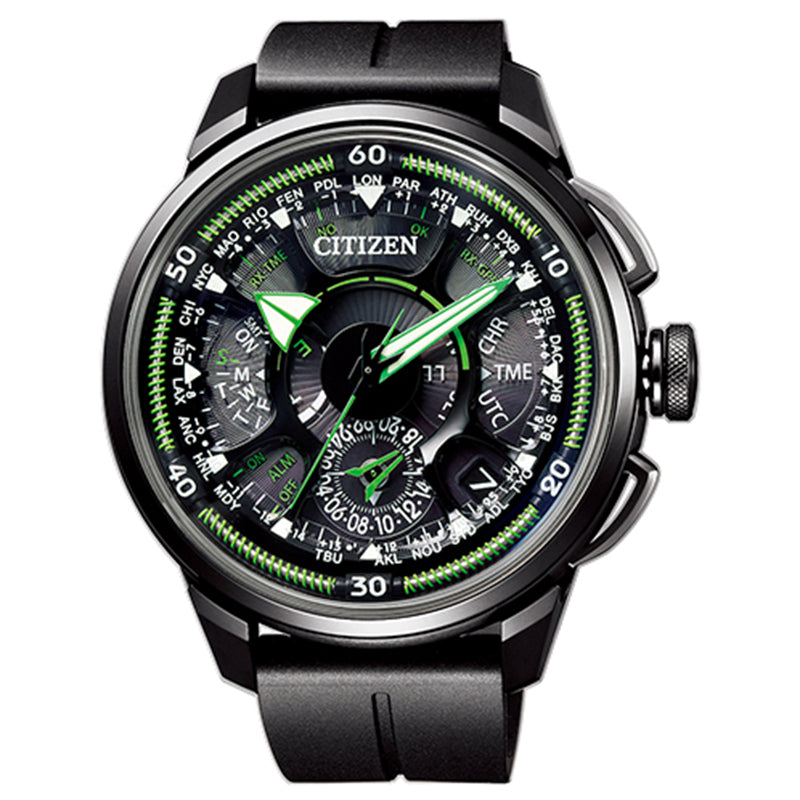 CITIZEN ECO-DRIVE RADIO CONTROLLED AT9070-51L