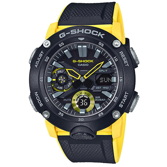 CASIO G-SHOCK CARBON GA-2000-1A9DR