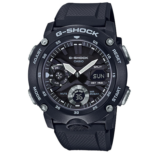 CASIO G-SHOCK CARBON GA-2000S-1ADR