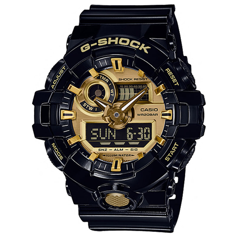CASIO G-SHOCK GA-710GB-1ADR - Vincent Watch