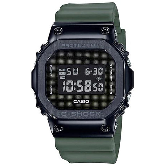 CASIO G SHOCK STEEL BEZEL GM-5600B-3DR