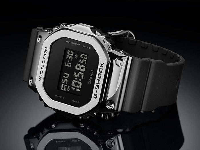 CASIO G-SHOCK STEEL BEZEL GM-5600-1DR - Vincent Watch