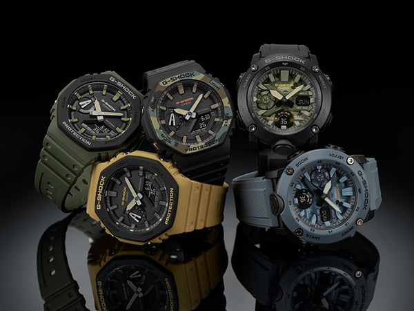 "CASIO G-SHOCK Carbon Core ""Casioak"" GA-2110SU-9ADR - Vincent Watch"
