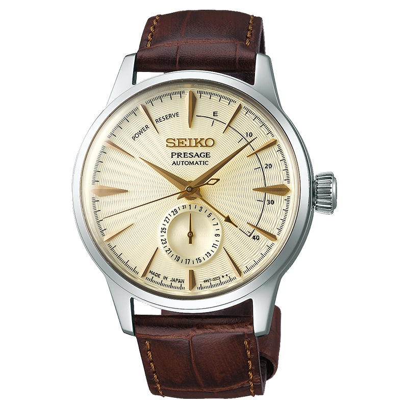 SEIKO PRESAGE POWER RESERVE SSA387J1 - Vincent Watch