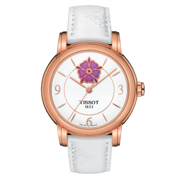 TISSOT LADY HEART FLOWER POWERMATIC 80 T0502073701705 - Vincent Watch