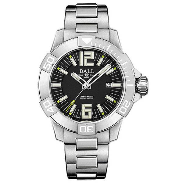 BALL ENGINEER HYDROCARBON DeepQuest II DM3002A-SC-BK - Vincent Watch