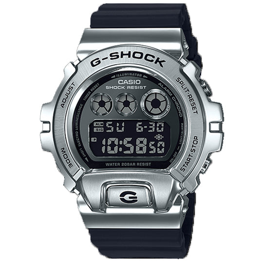 CASIO G-SHOCK STEEL BEZEL GM-6900-1DR - Vincent Watch