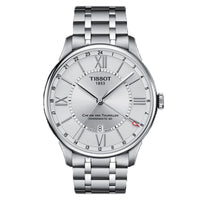 TISSOT CHEMIN DES TOURELLES POWERMATIC 80 GMT T0994291103800