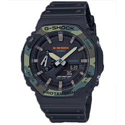 "CASIO G-SHOCK Carbon Core ""Casioak"" GA-2100SU-1A"