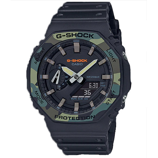 "CASIO G-SHOCK Carbon Core ""Casioak"" GA-2100SU-1ADR - Vincent Watch"