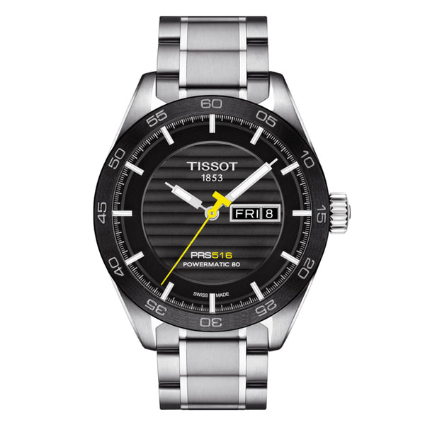 TISSOT PRS 516 POWERMATIC 80 T1004301105100 - Vincent Watch