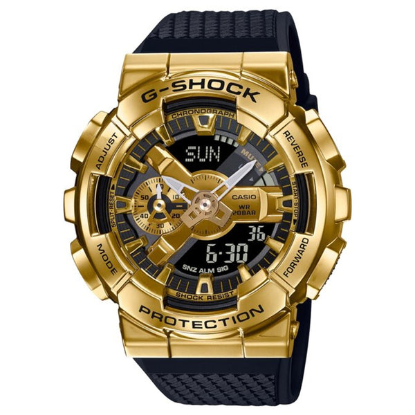 CASIO G-SHOCK STEEL BEZEL GM-110G-1A9DR - Vincent Watch