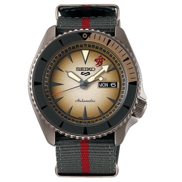 "SEIKO 5 AUTOMATIC LIMITED EDITION 6,500PCS GAARA ""NARUTO SERIES"" SRPF71K1 - Vincent Watch"