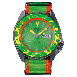 SEIKO 5 AUTOMATIC LIMITED EDITION 9,999PCS BLANKA STREET FIGHTER SRPF23K1